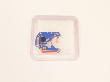 ETA 955112 Large Blue Electric Circuit Board | Watch Hands | Watch Straps and Bands | Watch Tools | Watch Glass and Crystals | Cleaning | Watch Parts | Vintage Watch Parts | Watch Batteries | Clock Parts